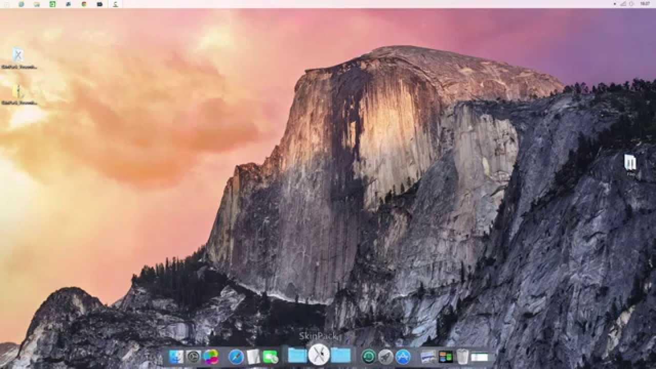 windows 8 look like mac os x