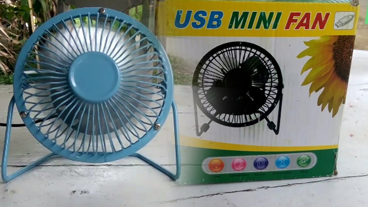 Usb Mini Fan Kipas Angin Super Adem Youtube