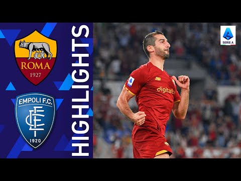 AS Roma Empoli Goals And Highlights