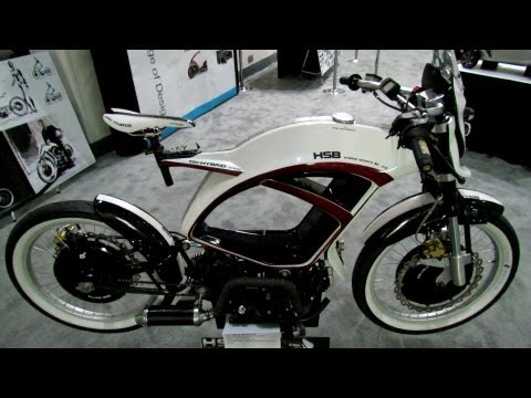 2012 HSB Tri-Hybrid Motorcycle - 2012 Los Angeles Auto Show