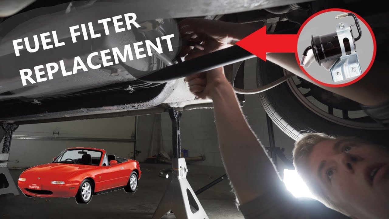 Miata Fuel Filter Replacement - YouTube | 99 Miata Fuel Filter Location On |  | YouTube