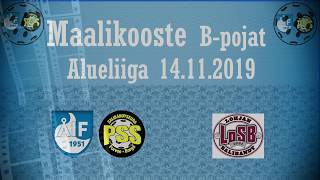 Maalikooste ÅIF/PSS - LoSB (B-pojat Alueliiga 14.11.2019)