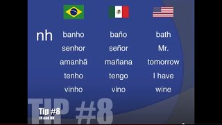 Top 11 Spanish-to-Portuguese Pronunciation Differences