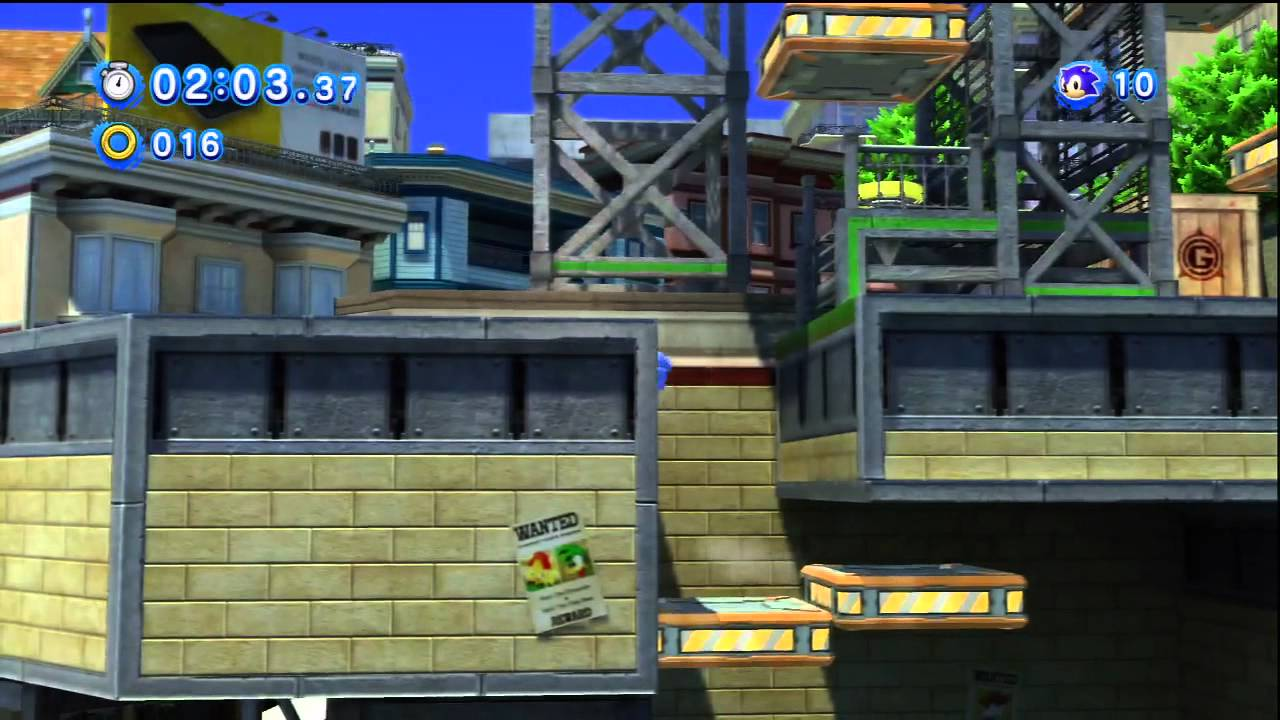 Sonic Generations (Blind Playthrough) Episode 3- Speed Highway, City