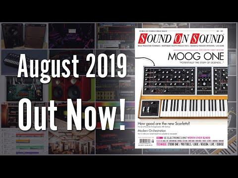 August 2019 Sound On Sound Magazine Preview