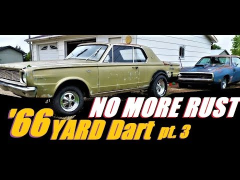 1966 YARD Dart GT 273 Gets home made CHEAP Floor pans pt3
