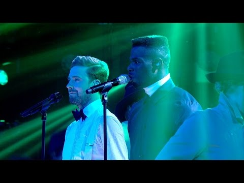 Ricky Wilson and Emmanuel Nwamadi perform Crazy - The Voice UK 2015: The Live Final - BBC One