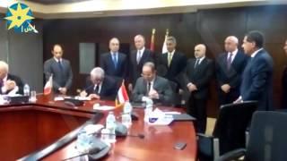 وزير النقل يشهد توقيع عقدين للمرحلة الثالثة من الخط الثالث للمترو
