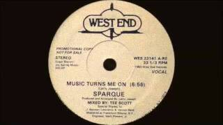 Sparque - Music Turns Me On (1982)