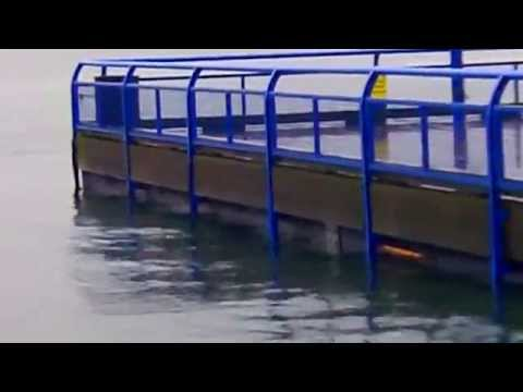 VAncouver underwater King Tide Proof Climate Change 2014 Ocean Exceeds Lonsdale Quay Storm DEsign