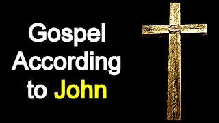 Gospel According to John  - Audio Bible Reading ( New Testament / NASB )