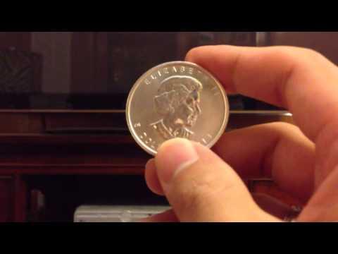 50 Ounces of 2013 Silver Canadian Maple Leaf Coins Bullion