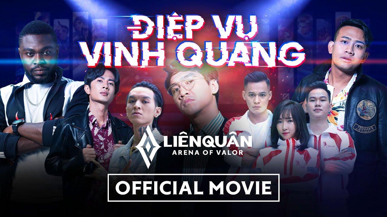 Điệp vụ vinh quang   Official movie   PewPew, Độ Mixi, FAP TV, Uyên Pu, CeeJay, Rambo, Bình Gold,...