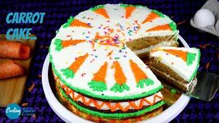 বটর ব বটর ছড়ই চলয় তর গজরর কক  Carrot Cake Recipe  Bangladeshi Gajorer Cake