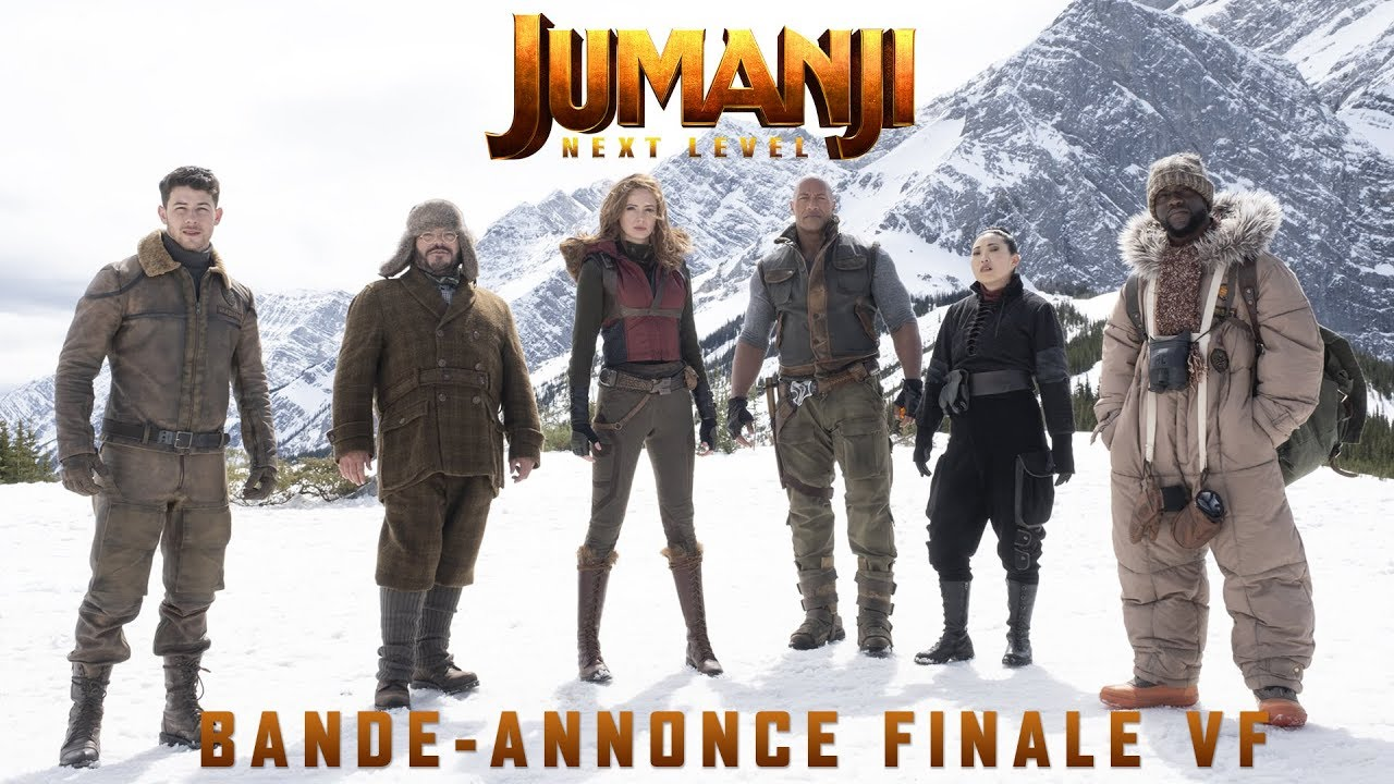 Jumanji : Next Level - Bande-annonce Finale - VF