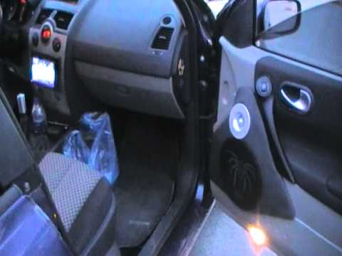 renault megane full sound system by hxomania team hifonics ground zero youtube. Black Bedroom Furniture Sets. Home Design Ideas