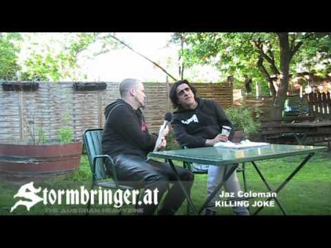 KILLING JOKE INTERVIEW with Jaz Coleman