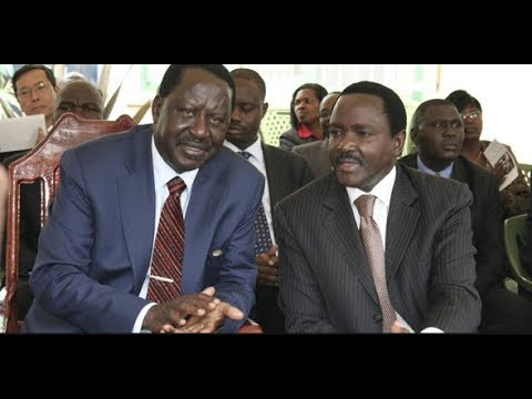 Secrets of Raila Odinga, Kalonzo Musyoka talks