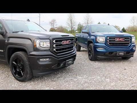 2016 Gmc Sierra 1500 4x2 Elevation Edition 5 3l V8 4 V6 Double Cab Preview