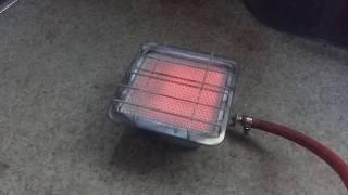 Автономный газовый обогреватель в автомобиль за копейки