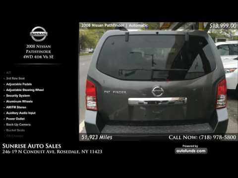 Used 2008 Nissan Pathfinder | Sunrise Auto Sales, Rosedale, NY