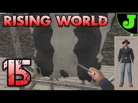 CLOTHING & LEATHER TANNING! | Rising World - EP 15 | Update 0.9
