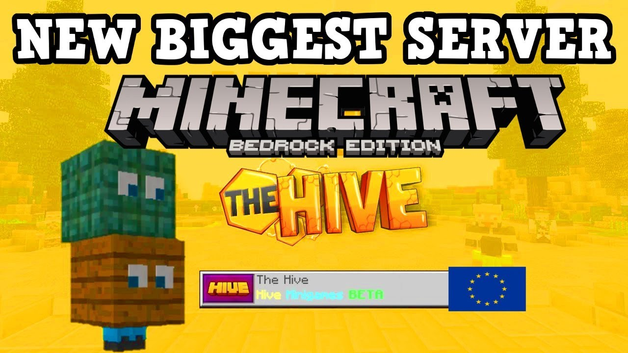Throwback: Hive Games Has an European Version in Minecraft Bedrock