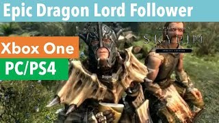 Download Skyrim Mods Epic Nazgul Follower Ps4 Xbox1 Pc MP3
