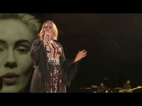 """Adele - Send My Love """" To Your New Lover """" Live At Glastonbury Festival"""