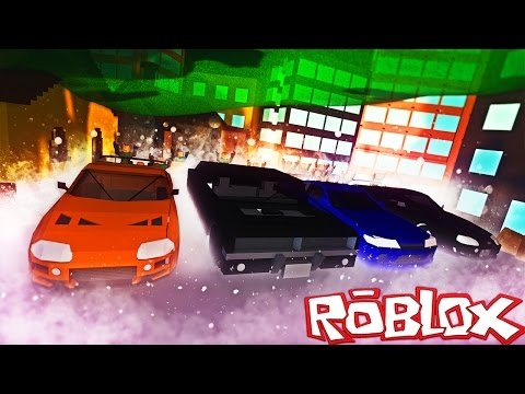 Roblox Adventures / Ultimate Driving! / POLICE CAR CHASE & STREET RACING IN ROBLOX!