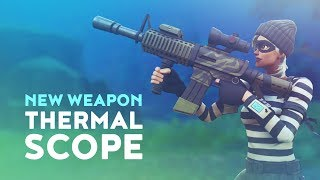 THERMAL SCOPED ASSAULT RIFLE - NOTHING BUT HEAT! (Fortnite Battle Royale)