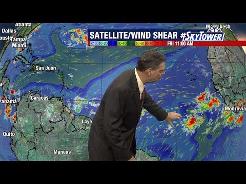 Tropical weather forecast: Jun 25, 2021
