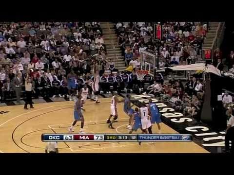 Miami Heat vs Oklahoma City Thunder (103 - 96) October 8, 2010