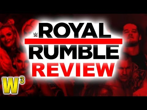 WWE Royal Rumble 2018 Review | Wrestling With Wregret