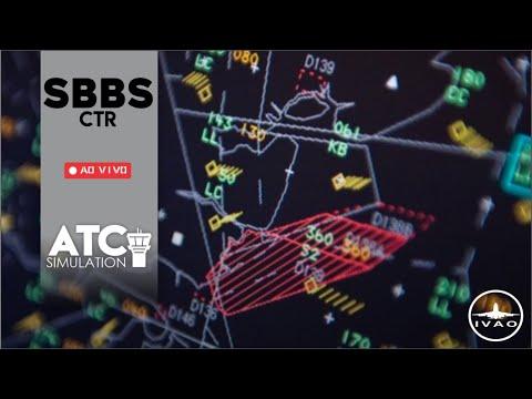 [IVAO] Centro Brasilia - SBBS_CTR - Testando a nova versão do Aurora (1.1.69b)