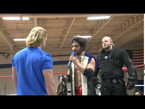 Icarus challenges Deucalion [CHIKARA For Your Eyes Only]