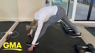 Stretching for two minutes a day can make you less stressed l GMA Digital
