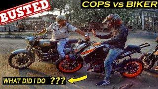 KTM Rider vs Kolkata Police || Stunt Riding is not a Crime
