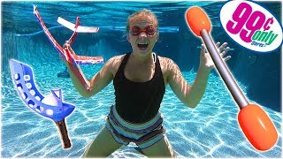 I FOUND THE BEST 99 CENT STORE SUMMER TOYS! (Or did I..) // SoCassie