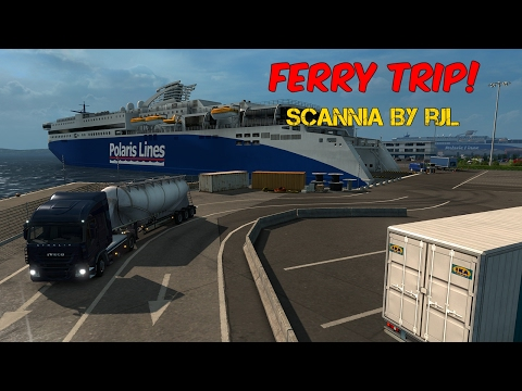Euro Truck Simulator 2: Ferry Trip