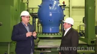 """""""ВАРК"""". Производство крупногабаритной трубопроводной арматуры. Часть V"""