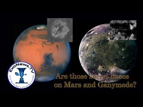 ExoNews  -- Are those secret bases on Mars and Ganymede? (S01E10)