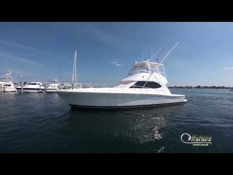 42' 2005 Riviera Convertible Offshore Yacht Sales