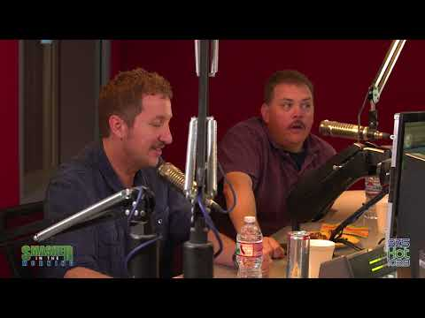 Super Troopers 2 stop by to see Smasher in the Morning