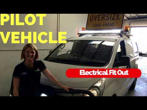 Pilot Vehicle Electrical Fit Out | Accelerate Auto Electrics & Air Conditioning