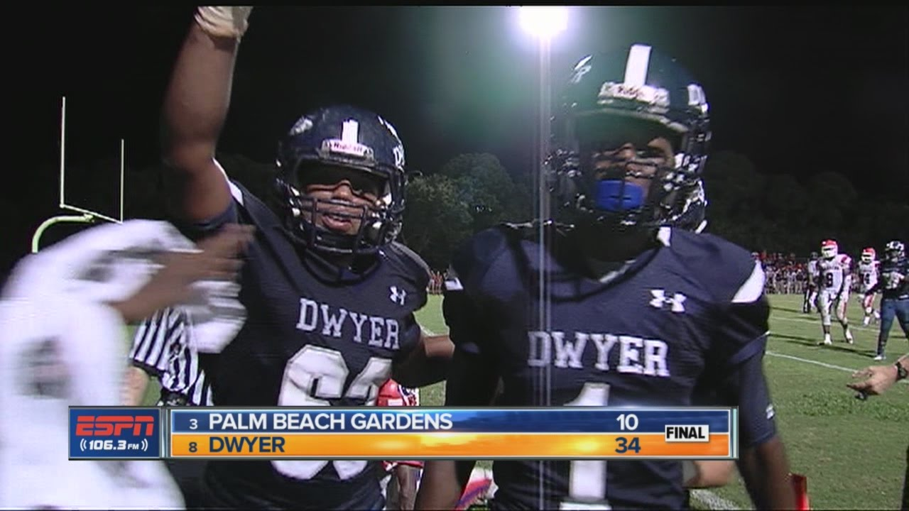 Dwyer Palm Beach Gardens Football Highlights Youtube