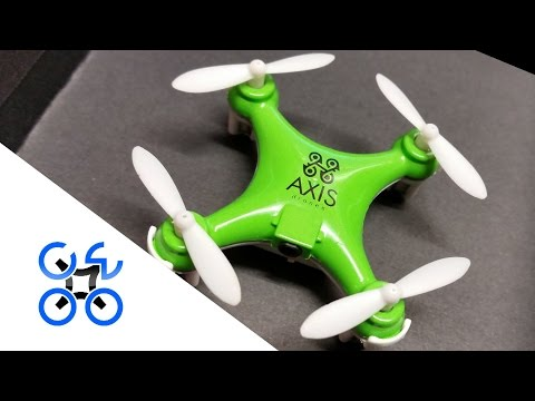 Axis Turbo-X: Unboxing The World's Fastest Nano Quadcopter