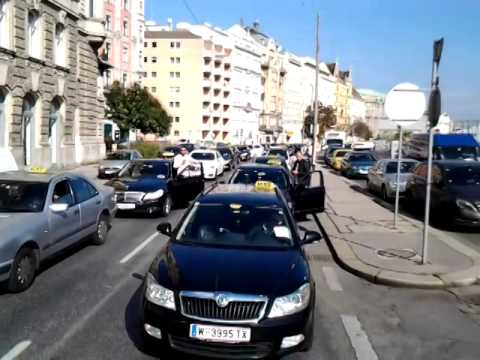 Taxi Demo In Wien