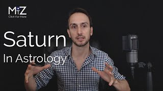 Saturn in Astrology - Meaning Explained