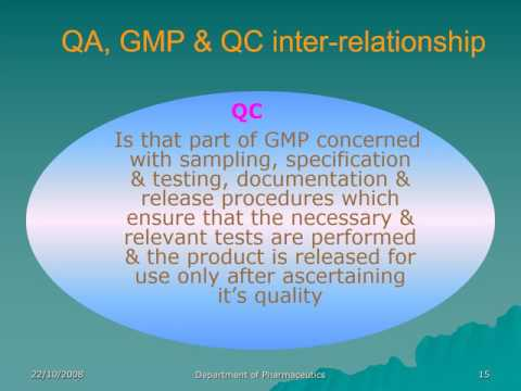 GMP AND cGMP